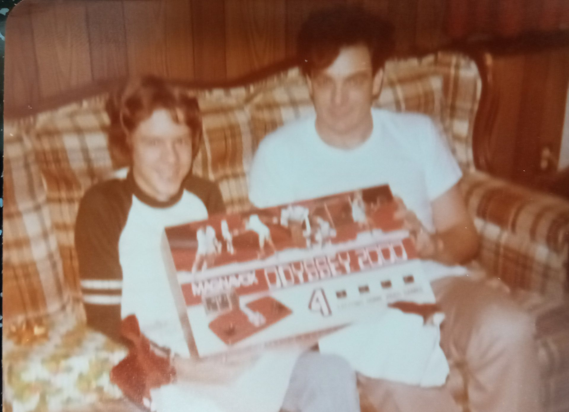 Troy and dad... Christmas was always good.