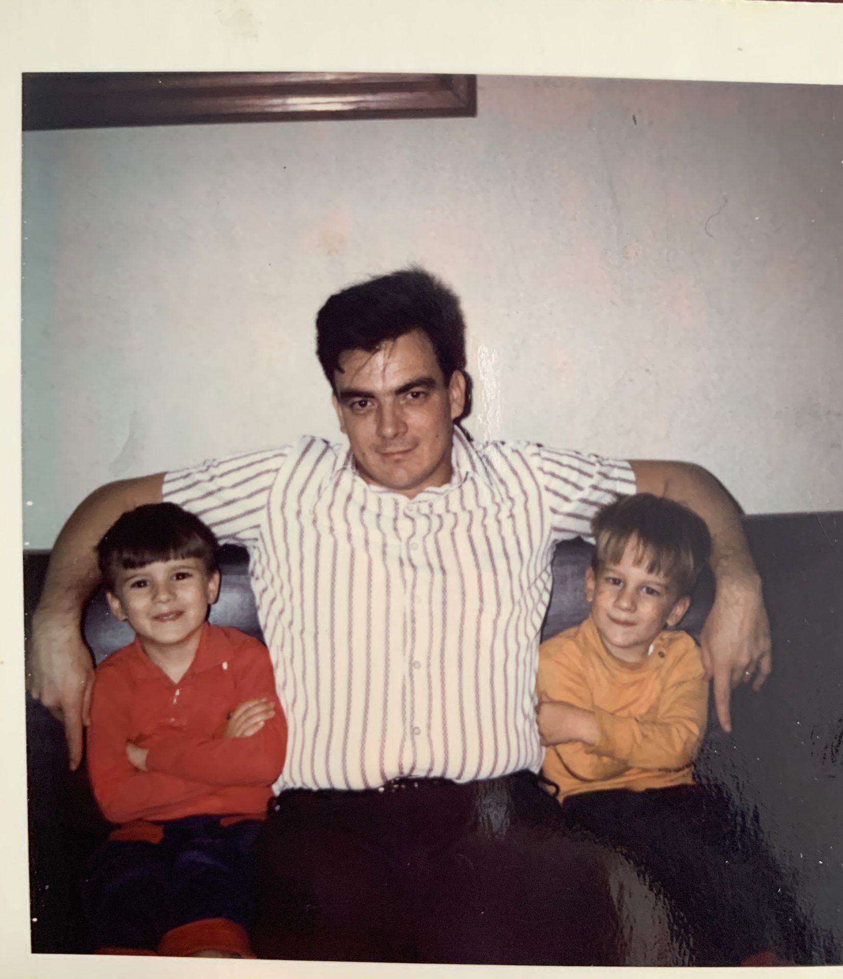 Dad, Shaun, Brian