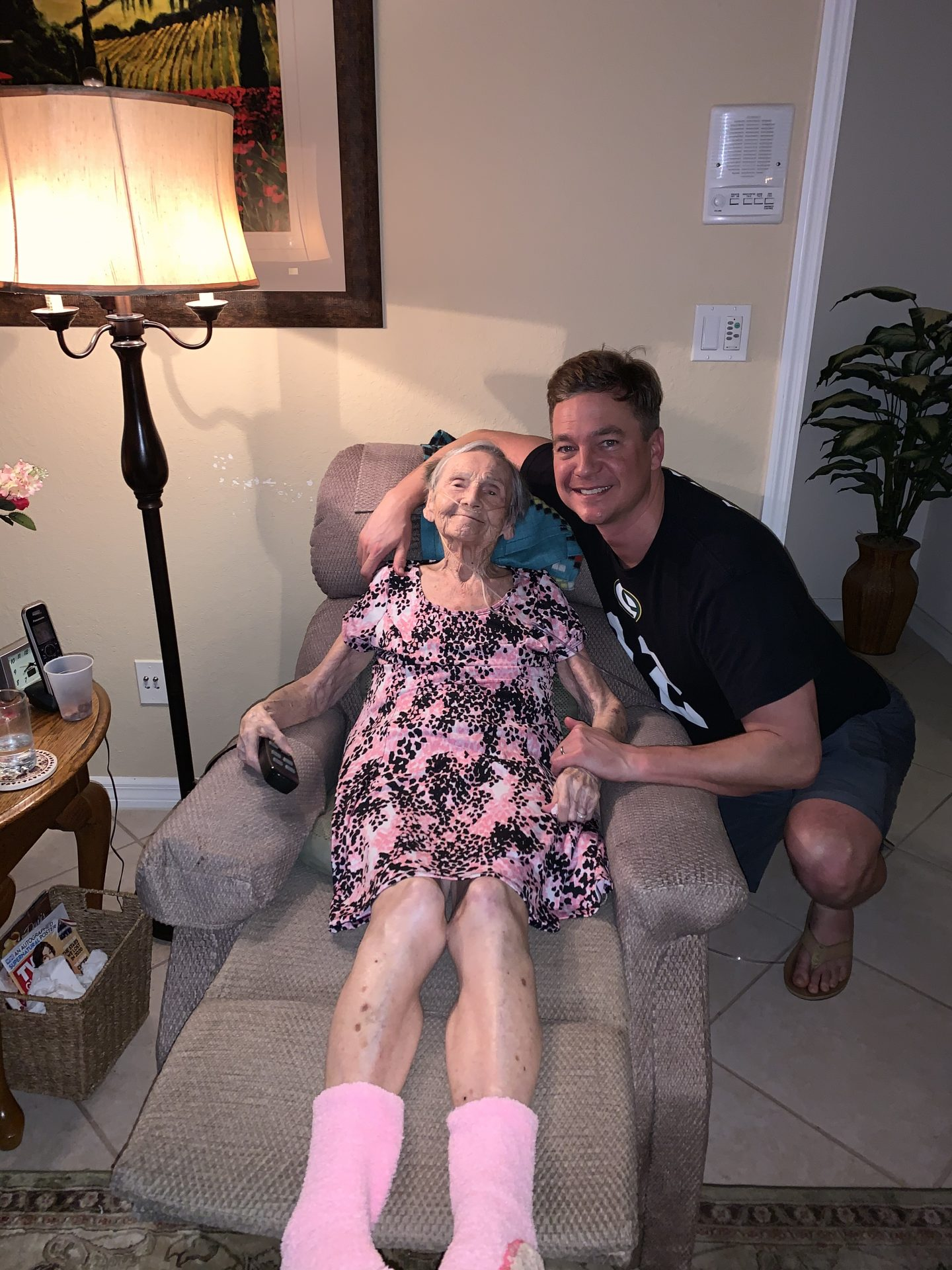 I love you Grandma, and I'm so thankful I was able to spend some time with you a few days before you left this earth and went to heaven.  I wonder what you might be doing right now, probably reuniting with family that went before you and playing cards.  :). Miss you!!