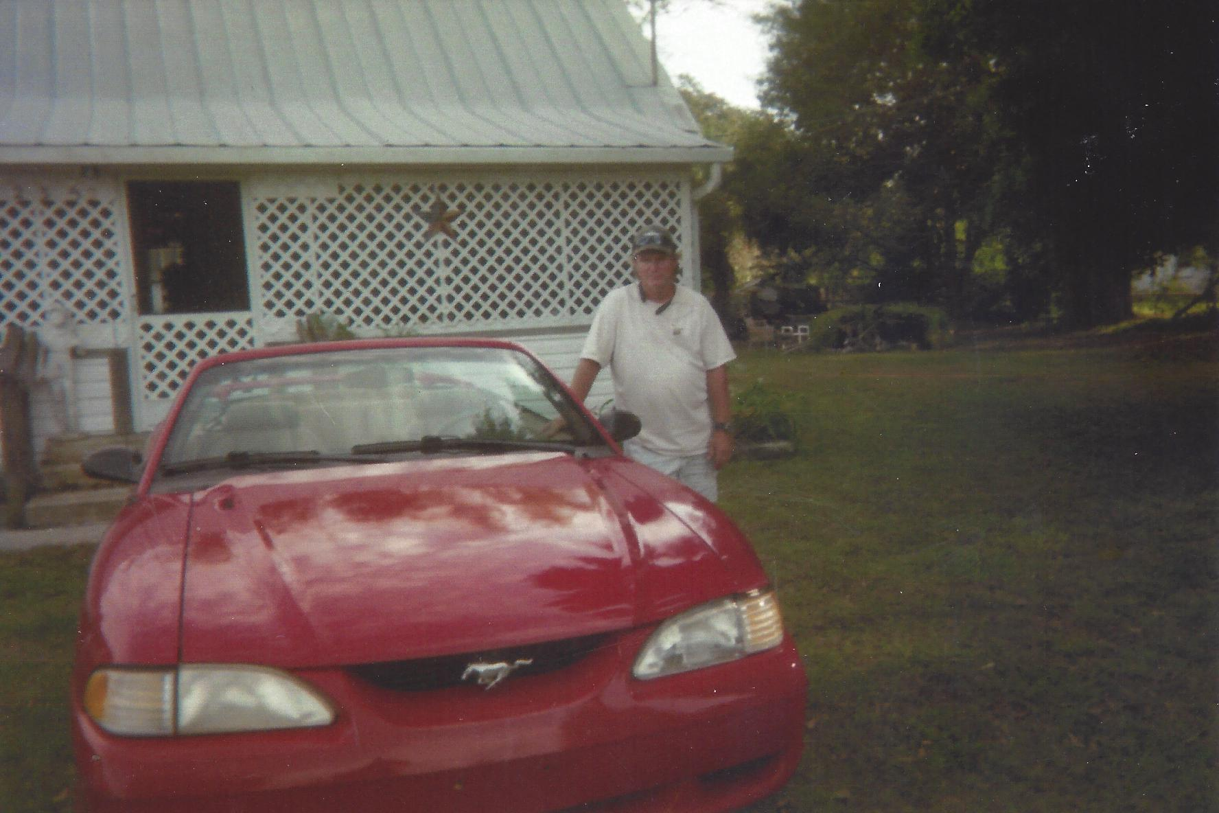 Dennis loved his car.