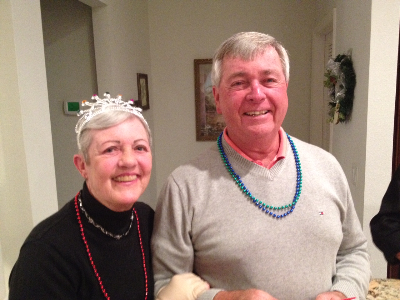 Mardi Gras Party 2014. Remembering the Good Times<br /> With Deepest Sympathy