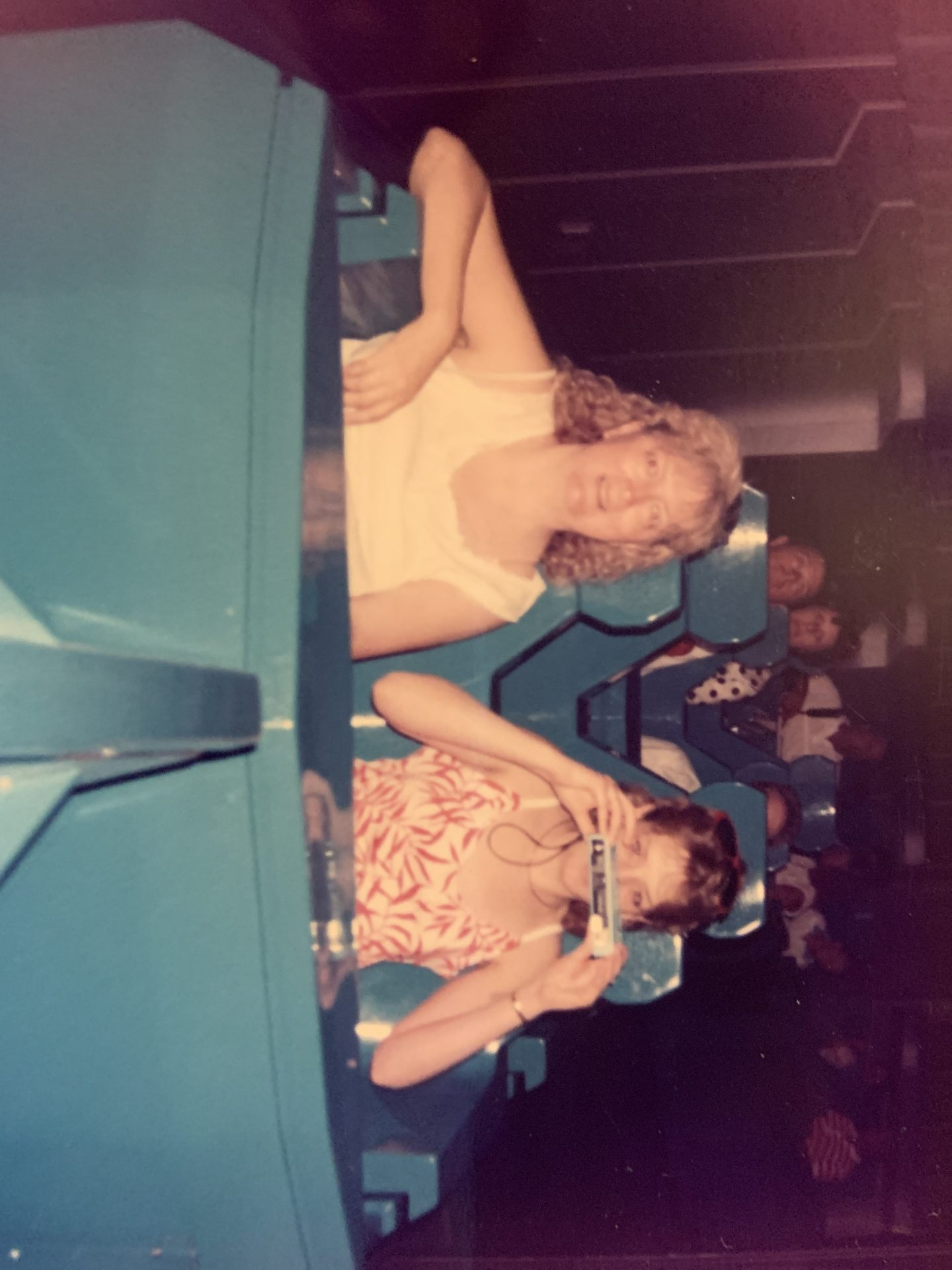 Mom and Tammy at Disney