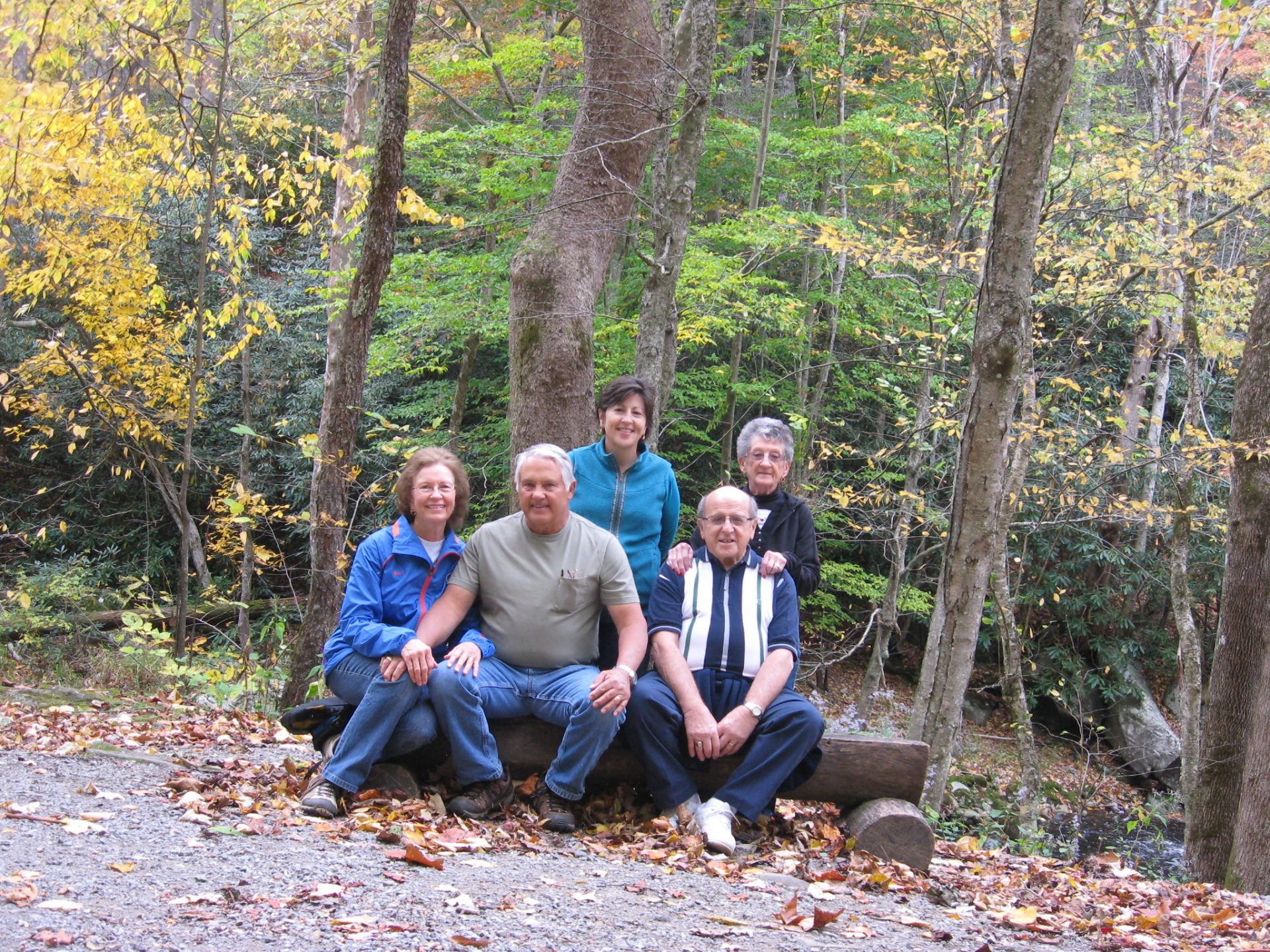 We always enjoyed spending time together in the Smoky Mountains.
