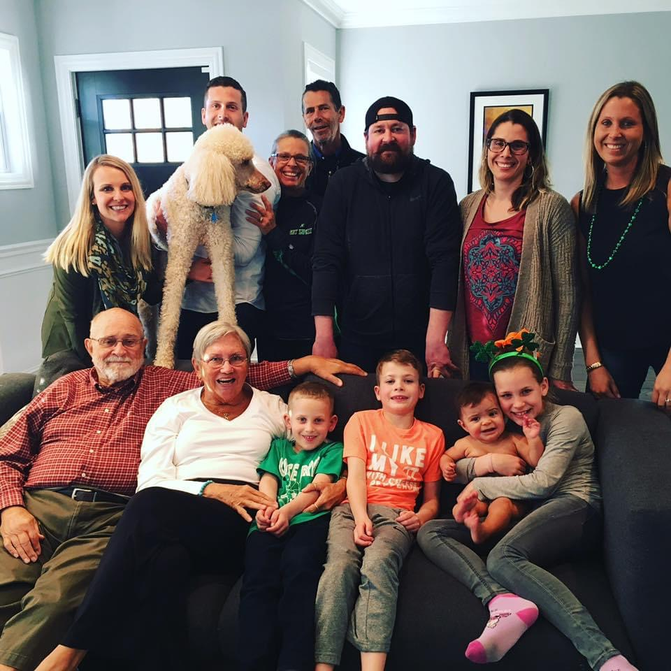 Grandaddy and Sharron's visit to Chicago to see all of their great grandkids. We love you!