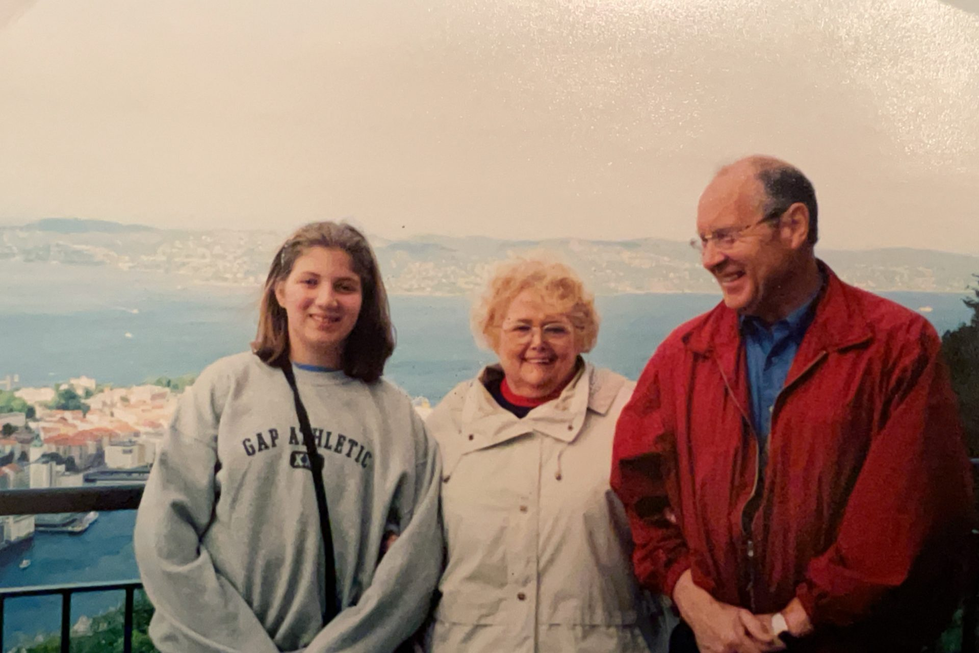 Grandma, our cousin, and myself in Bergen, Norway. I am so fortunate to have had this amazing experience with her and Pappy.