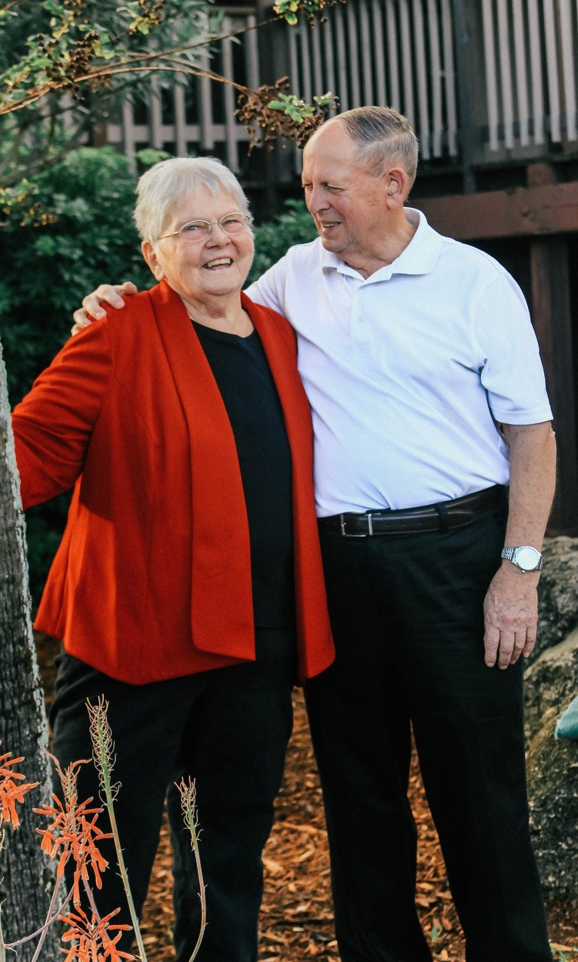 Neil and Elizabeth together