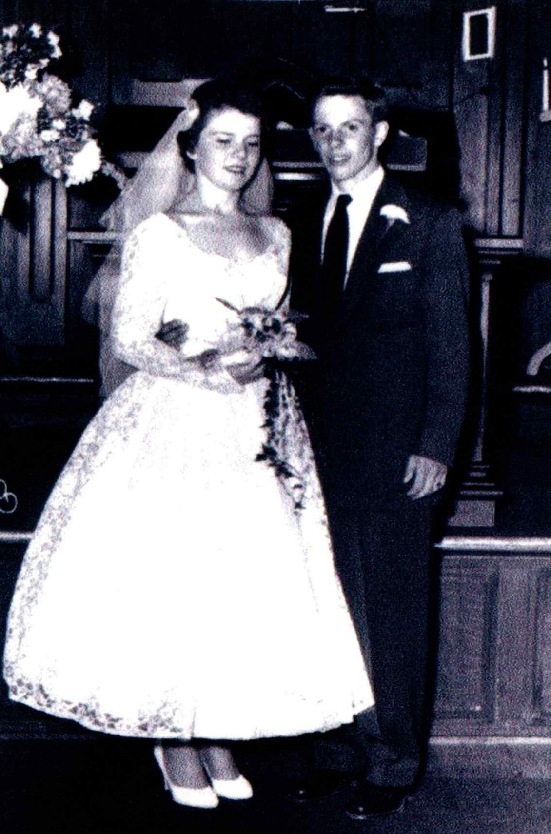 Neil and Elizabeth Wedding Photo