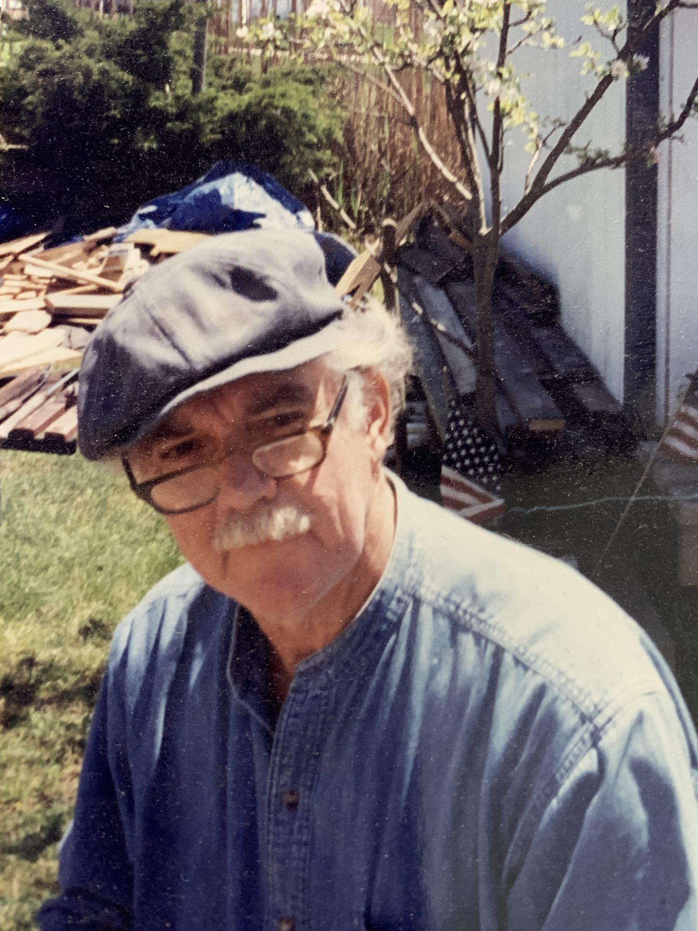 Dad, the carpenter.