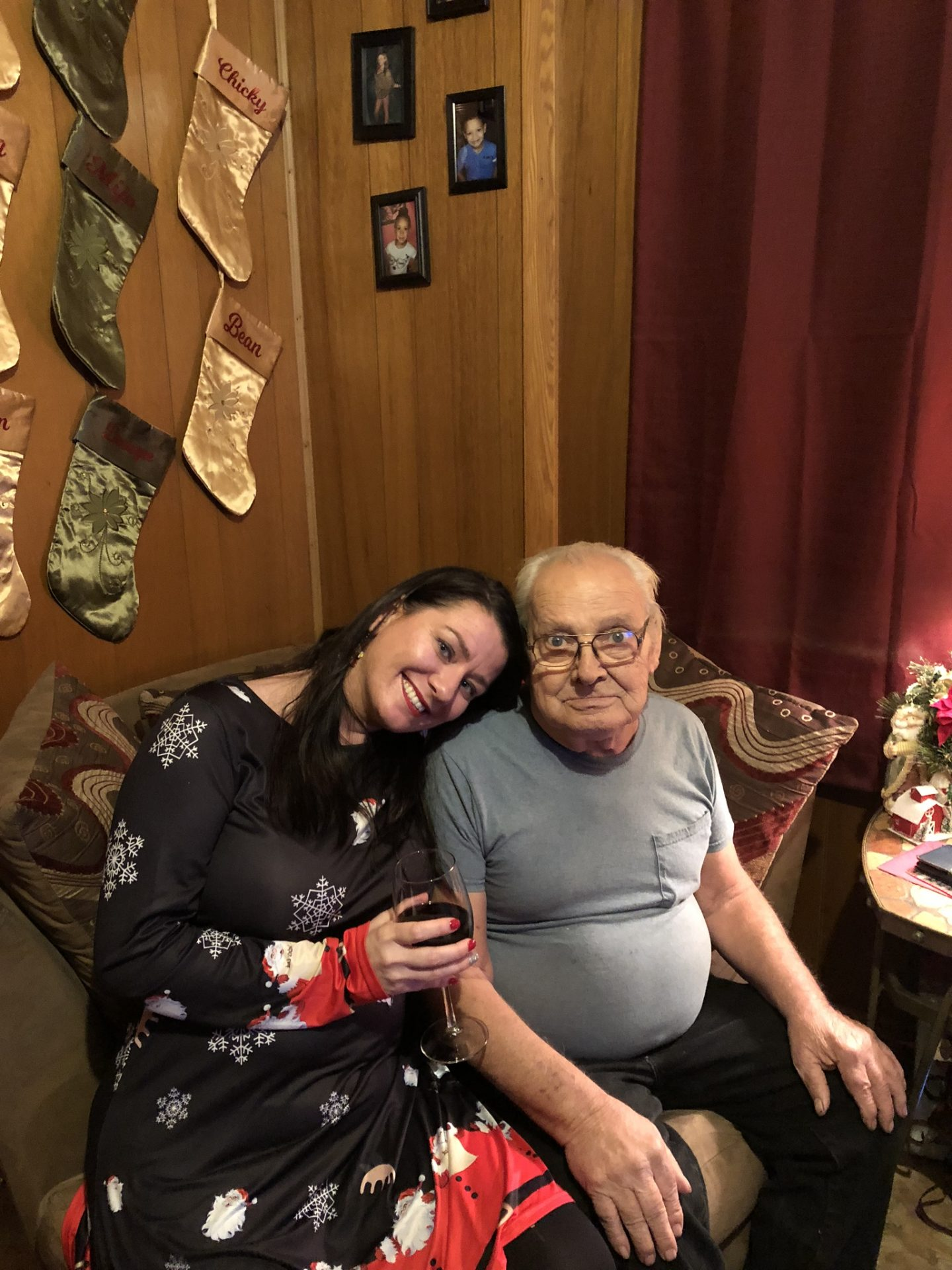 Gramps and Donna