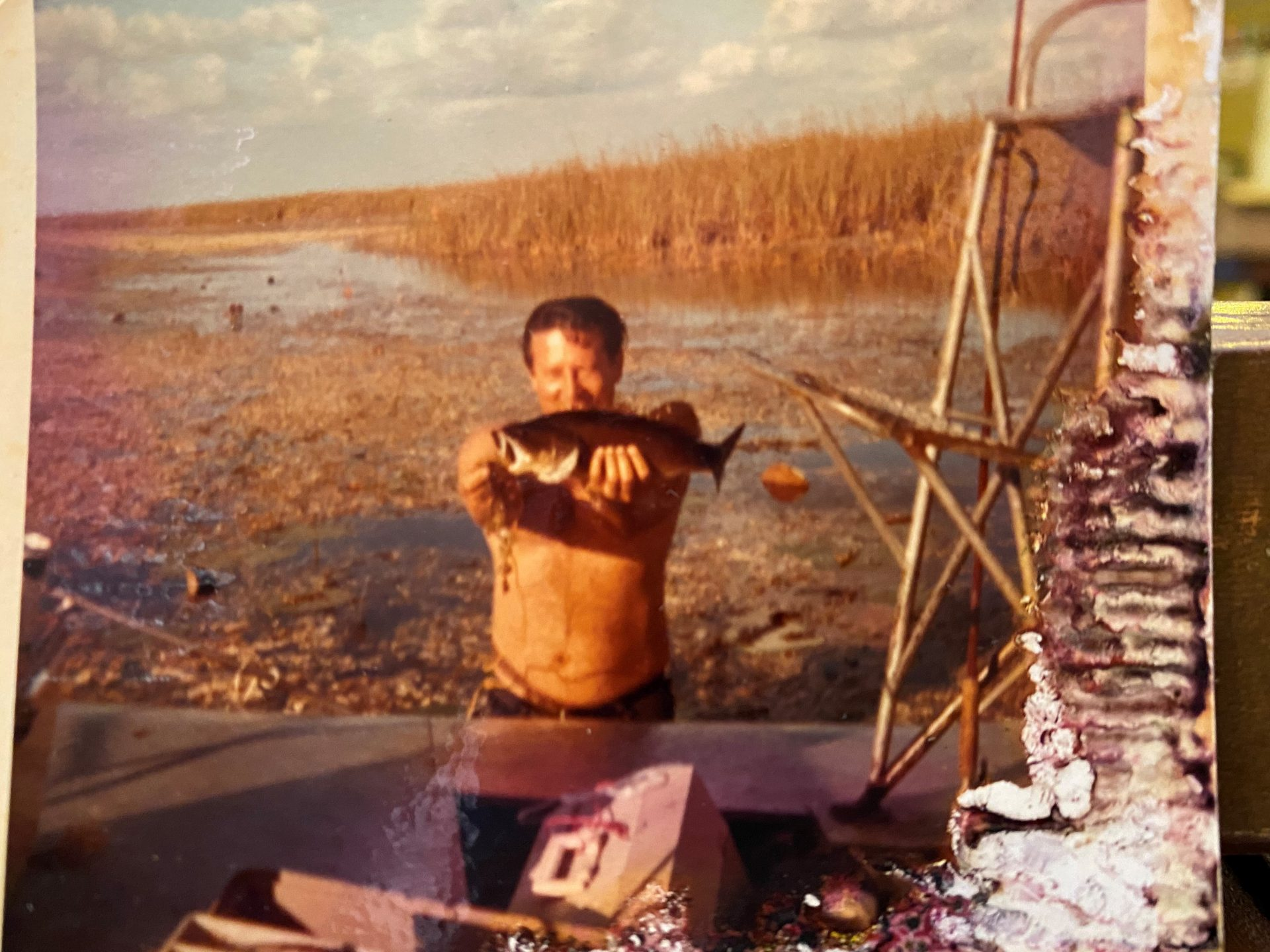 Bobby wade fishing in the Glades