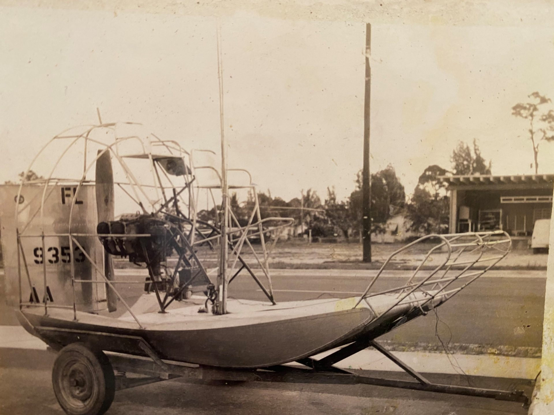 One of Bobby's early boats?