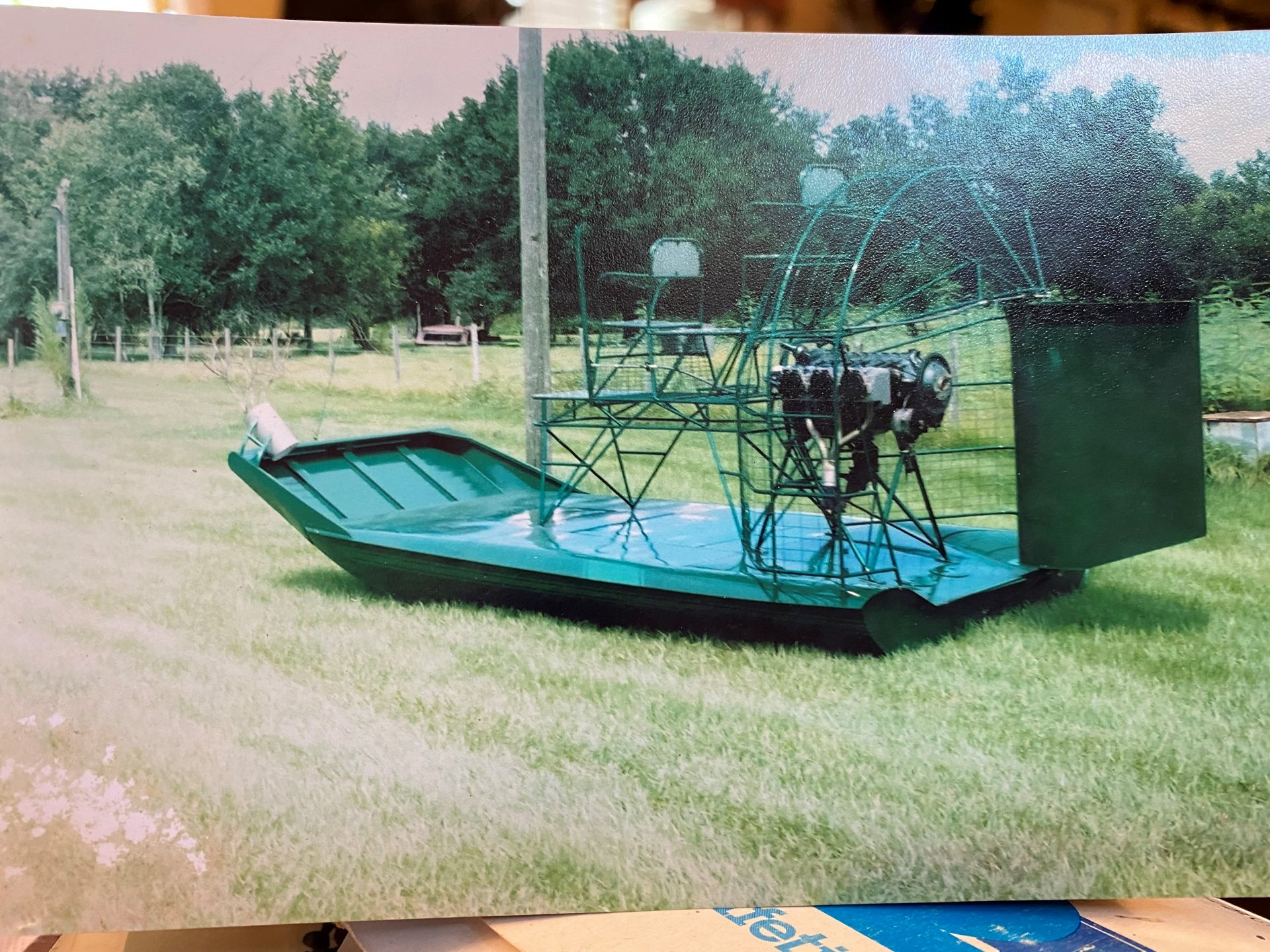 green airboat at the Okeechobee shop?