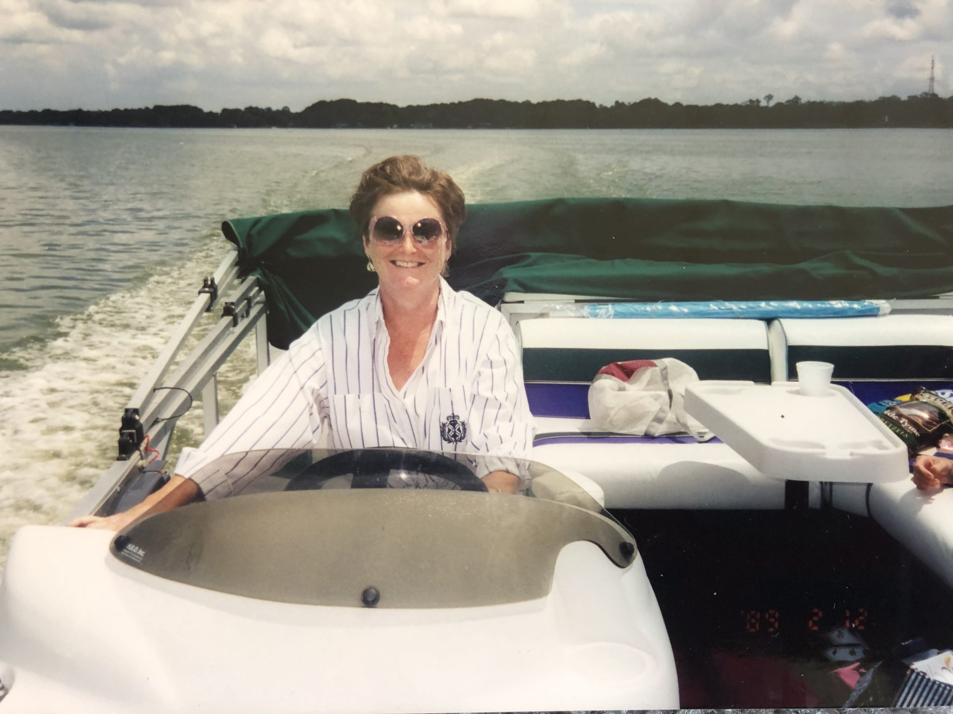 She loved the water  & boating<br />
