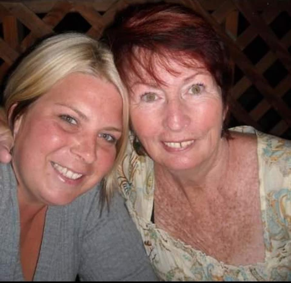 Mom and Shannon