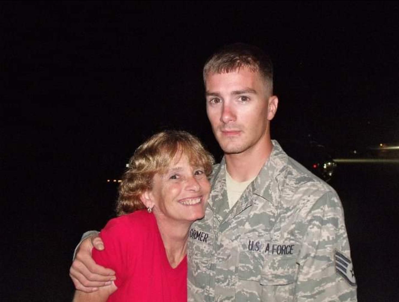 Ryan and his Mama
