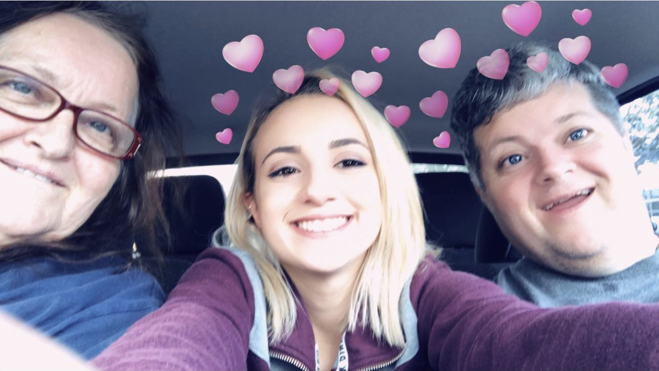 Car ride joy with uncle and grandma