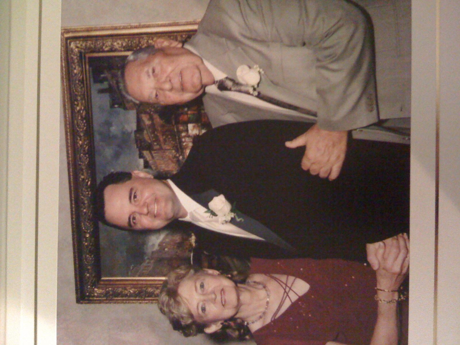 Robert and Melissa wedding in 2005