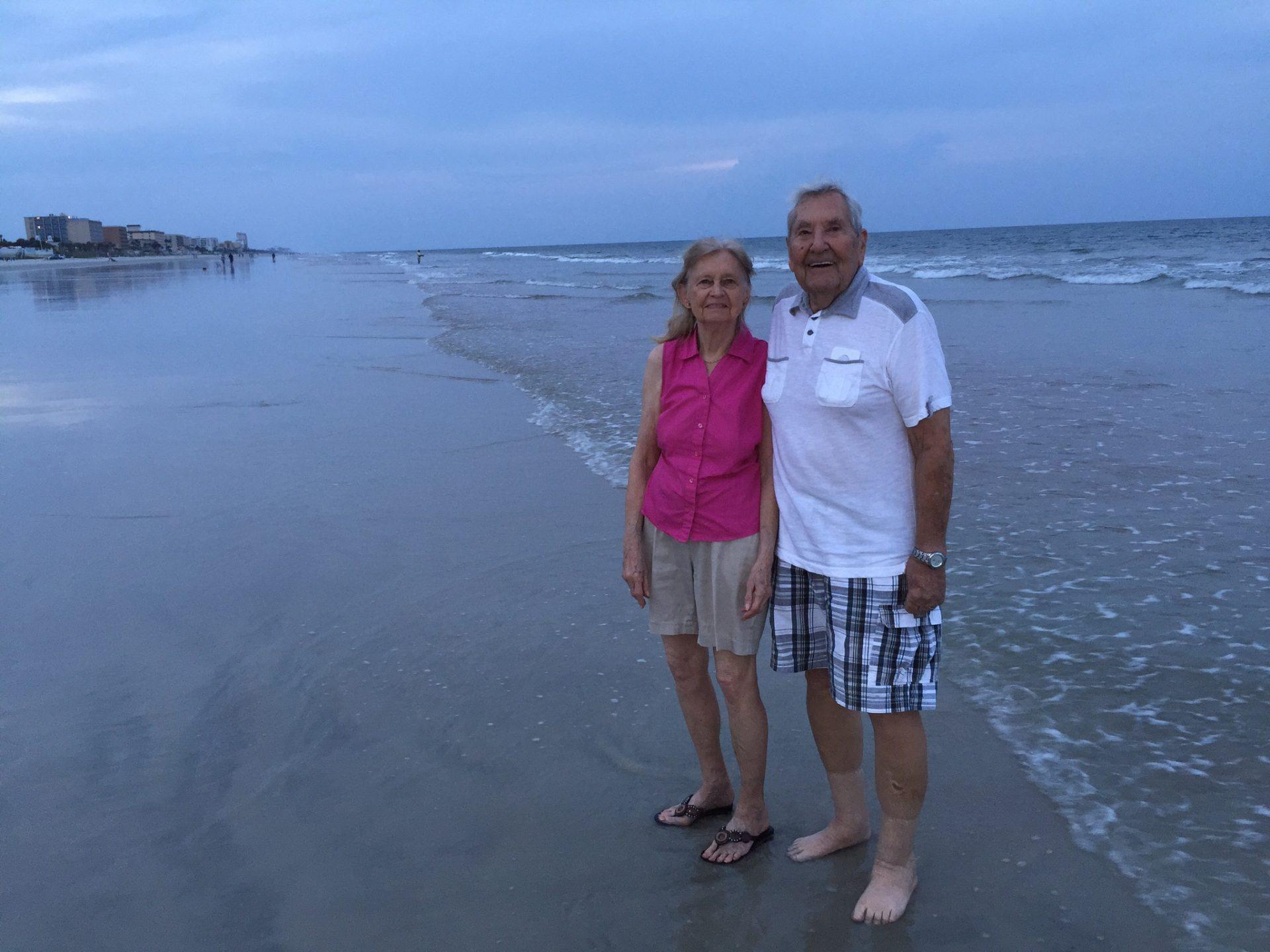 Nice walks on the beach
