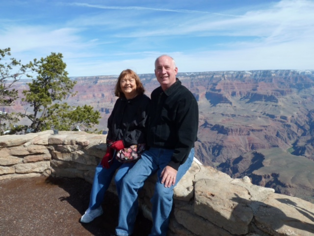 Grand Canyon on a western trip California or bust
