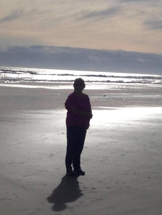 Laura Silhouette Gulf Sunset