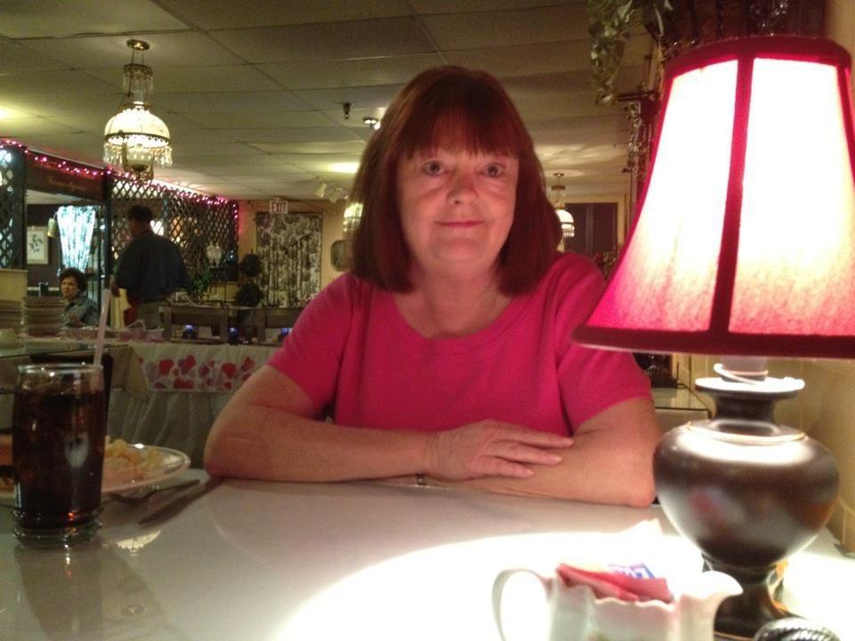 Laura at dinner