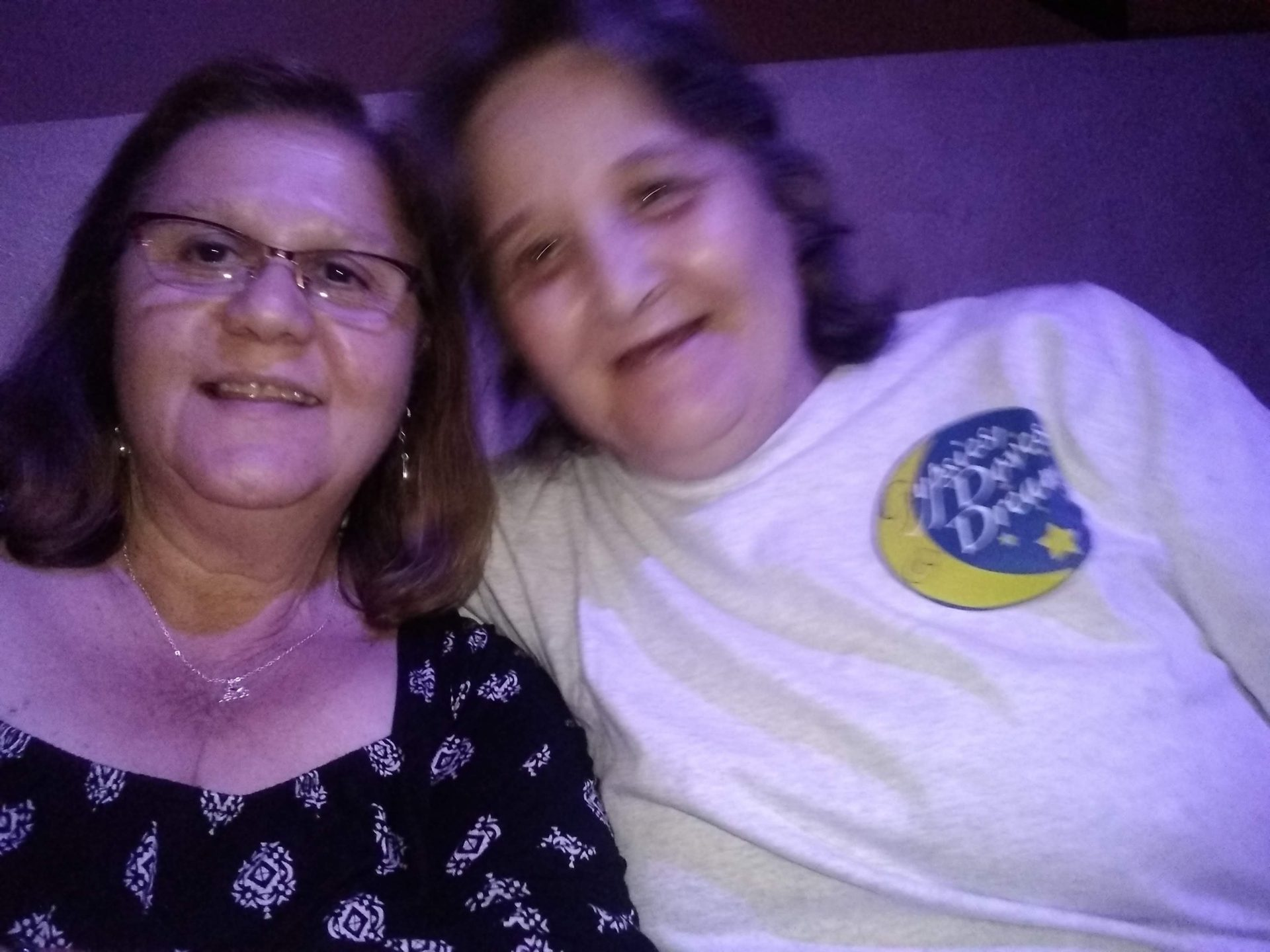 Rosie and me at a Stevie Nicks tribute concert
