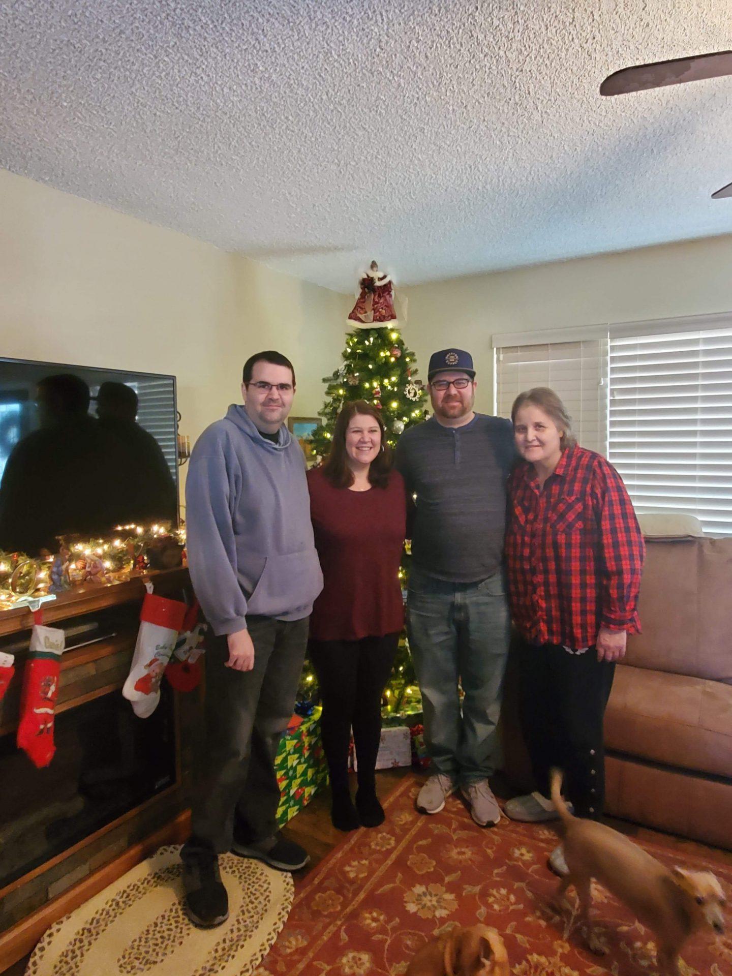 Rosie & family