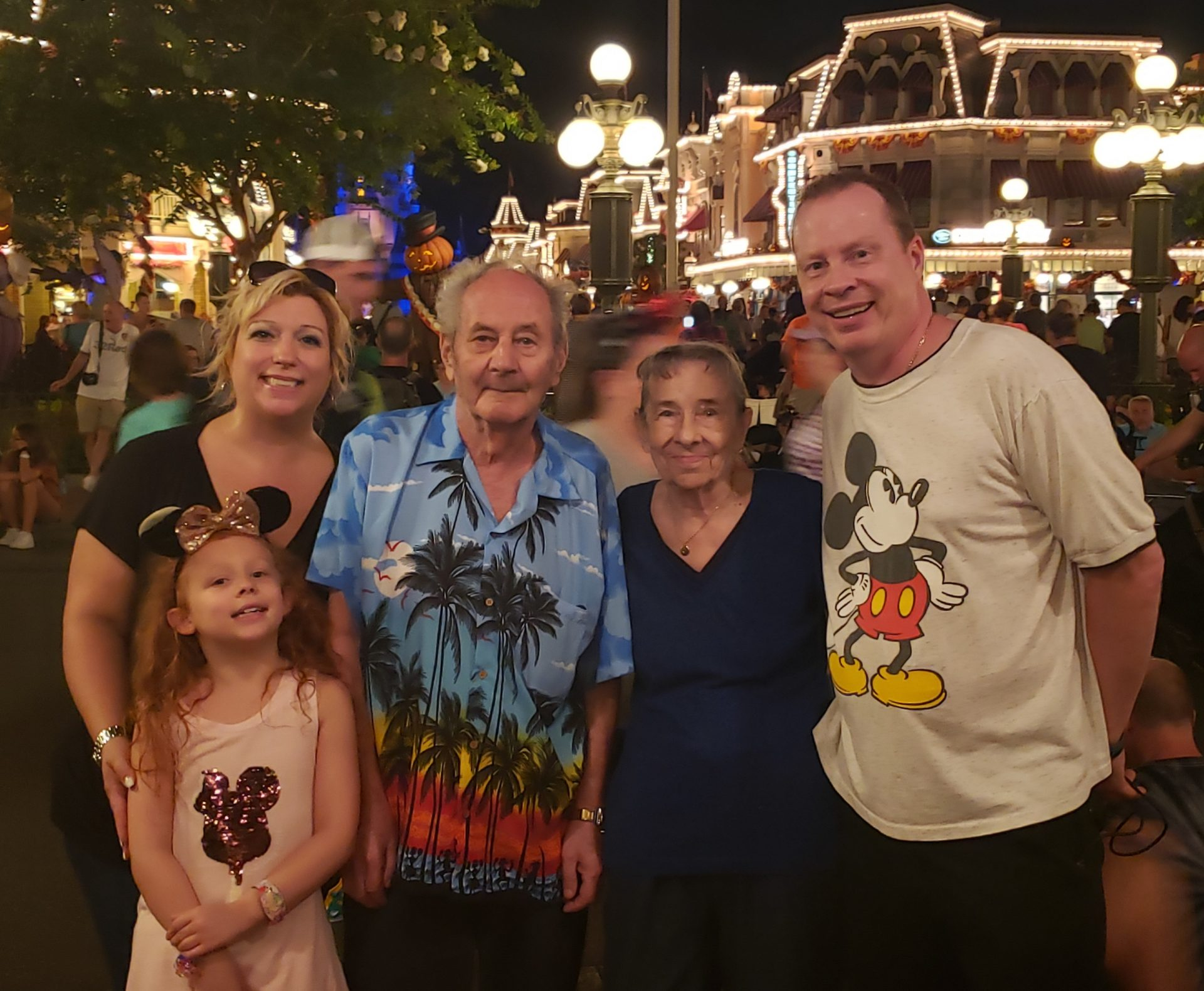 Our last family Disney World visit in October 2019.