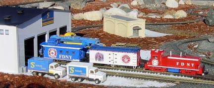 Ken's FDNY Tribute train