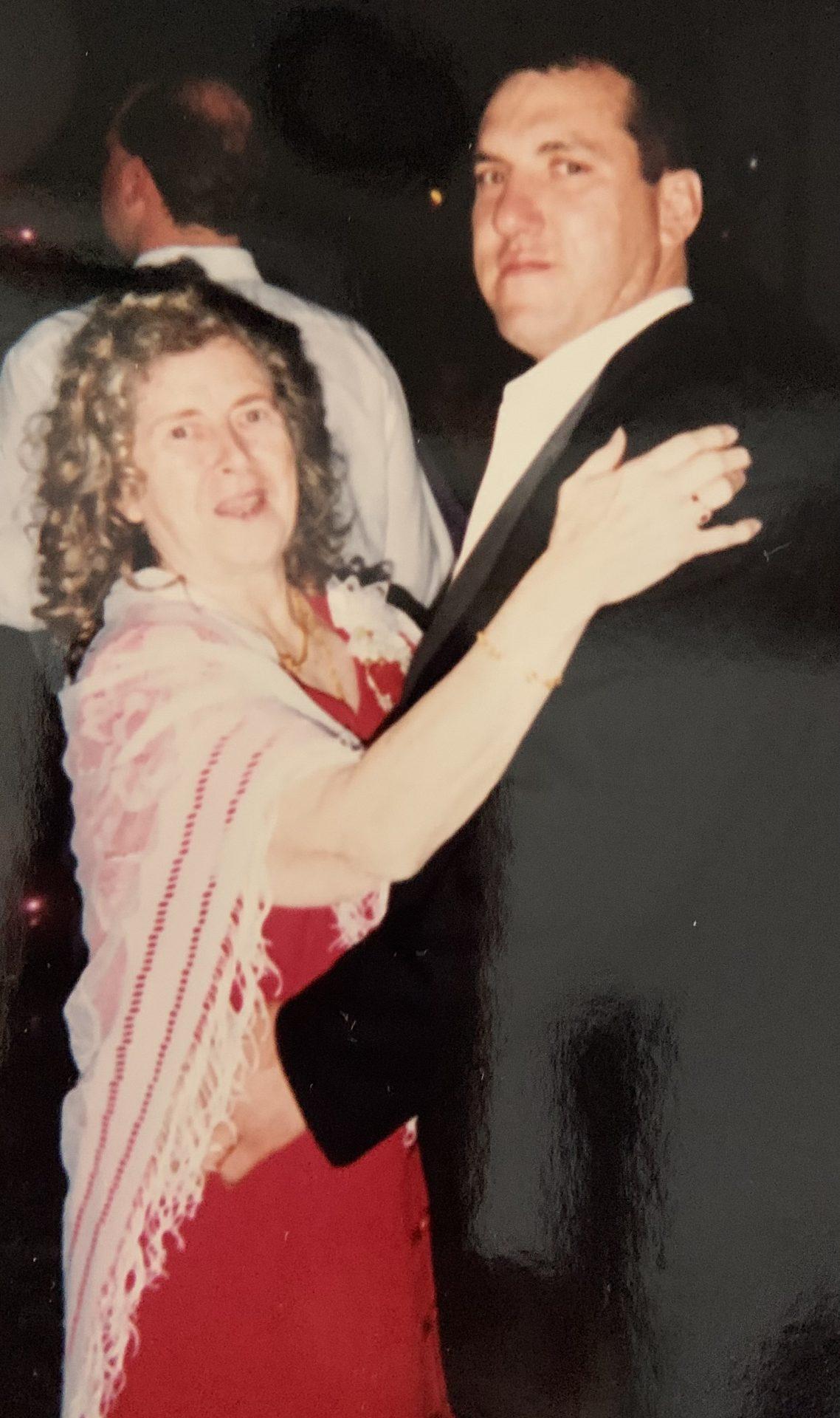 My mom and I at my wedding