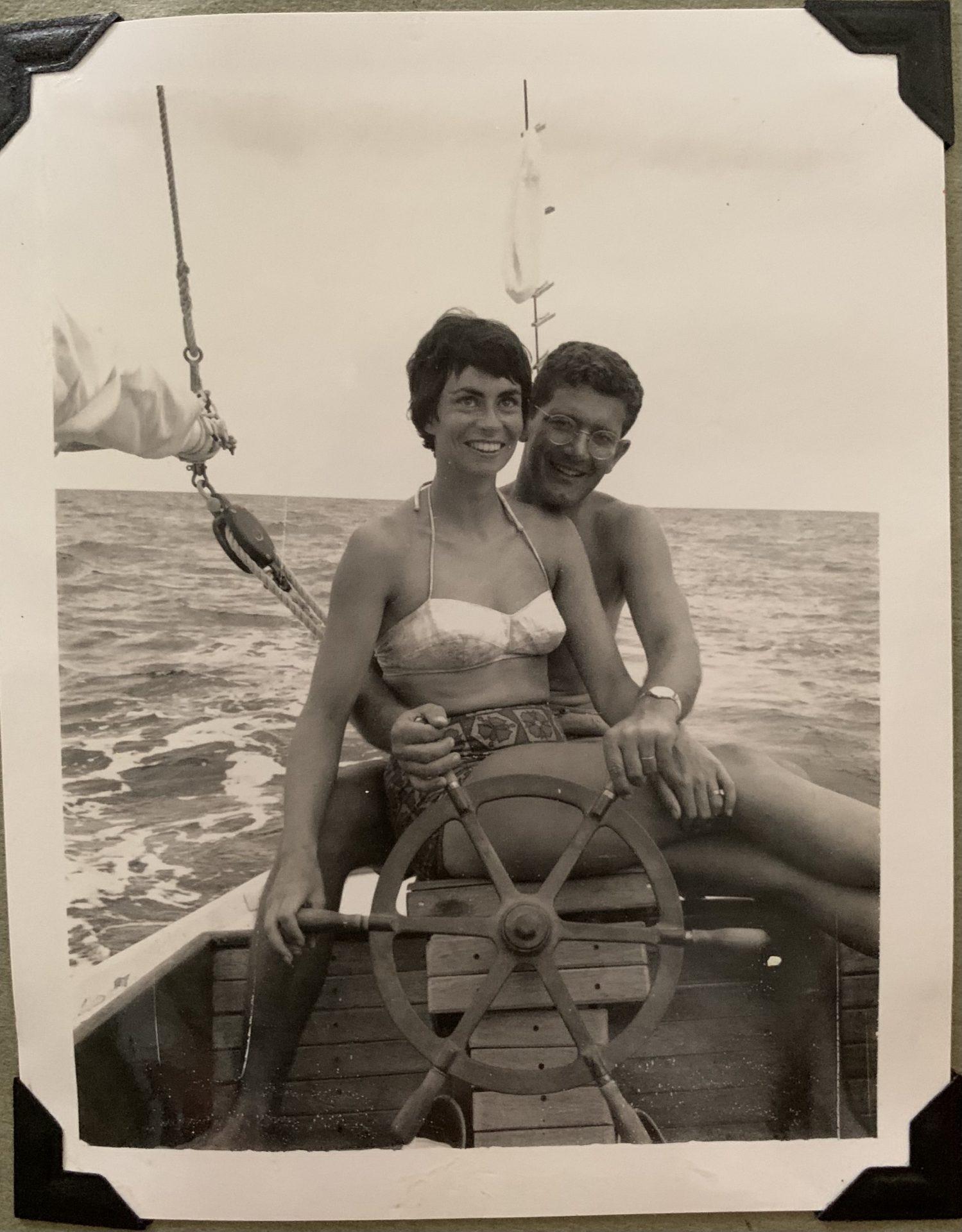"On board ""Sea Ducer"""