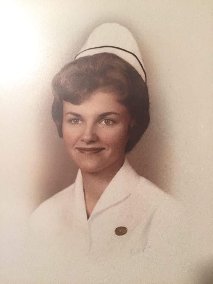 Her nurse graduation picture