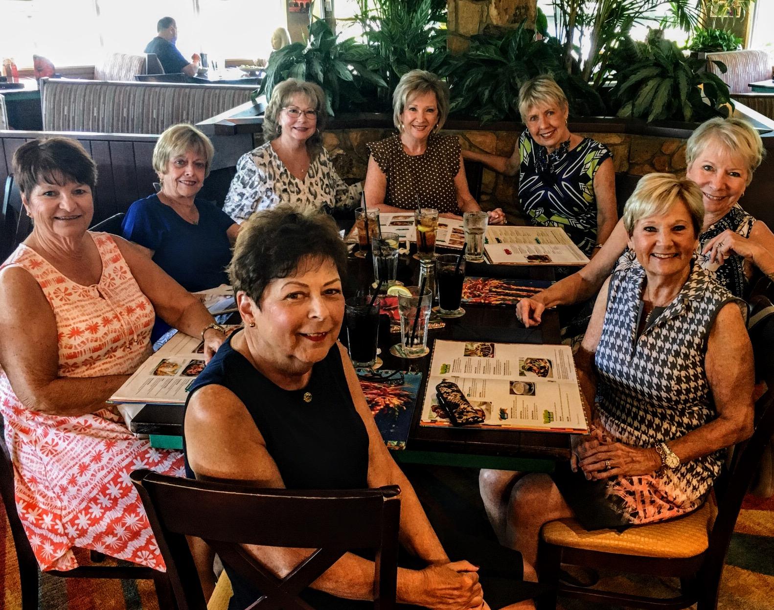 Magnolia Friends: Judy Croft, Donna Galkin, Cathy Scott, Brenda Wallace, Monica Young, Darlene Sullivan , Linda Burnett and Joyce Ferranti