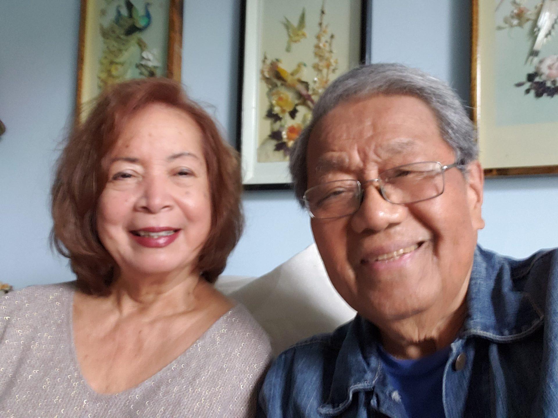 Josephine and  Dr. Ari Awitan Dec. 2020