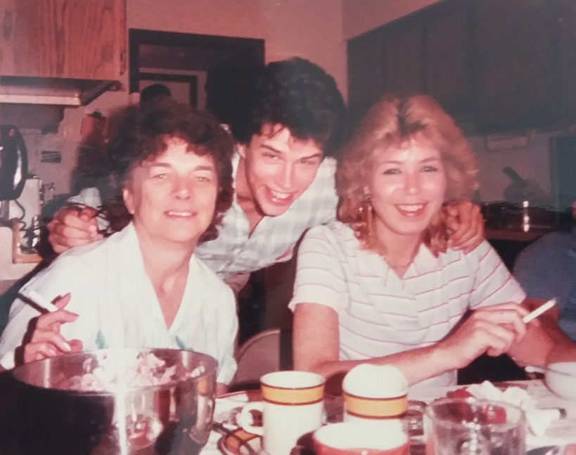 Rita Rose Morrissey, Thom Morrissey & Mary Wilkans<br /> <br /> Love you, Mary! Miss you so much.<br /> Love to Alex, Peyton & Mark