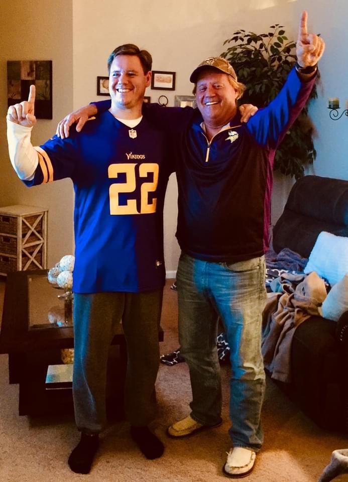 Scott and David. Go Vikings!