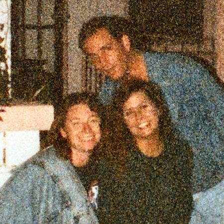 Dave, Carol and friend - Cassadaga 1991