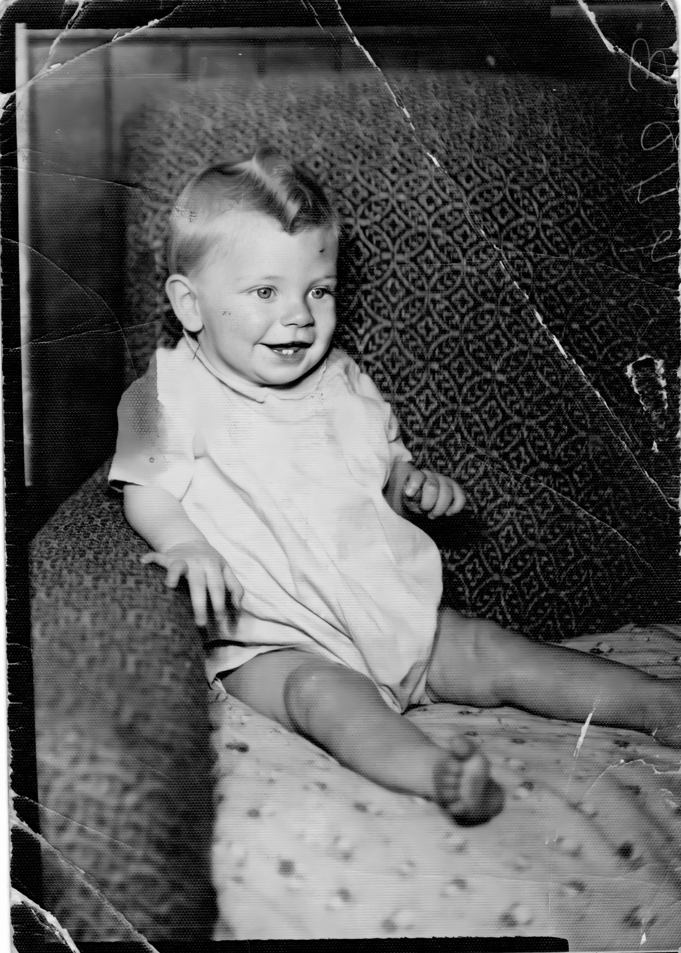 Russell as a Baby.