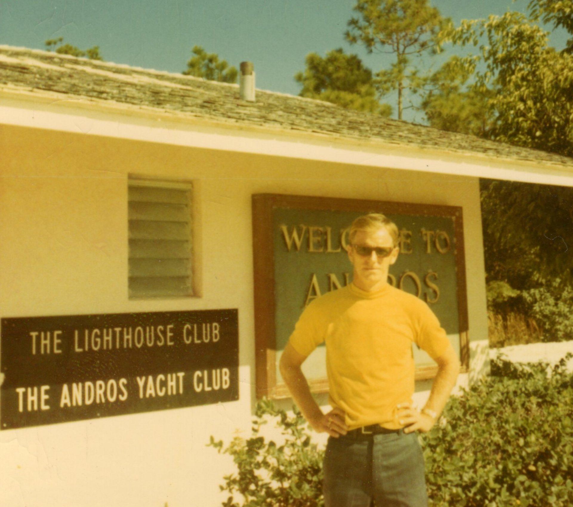 Russ on Andros, Bahamas