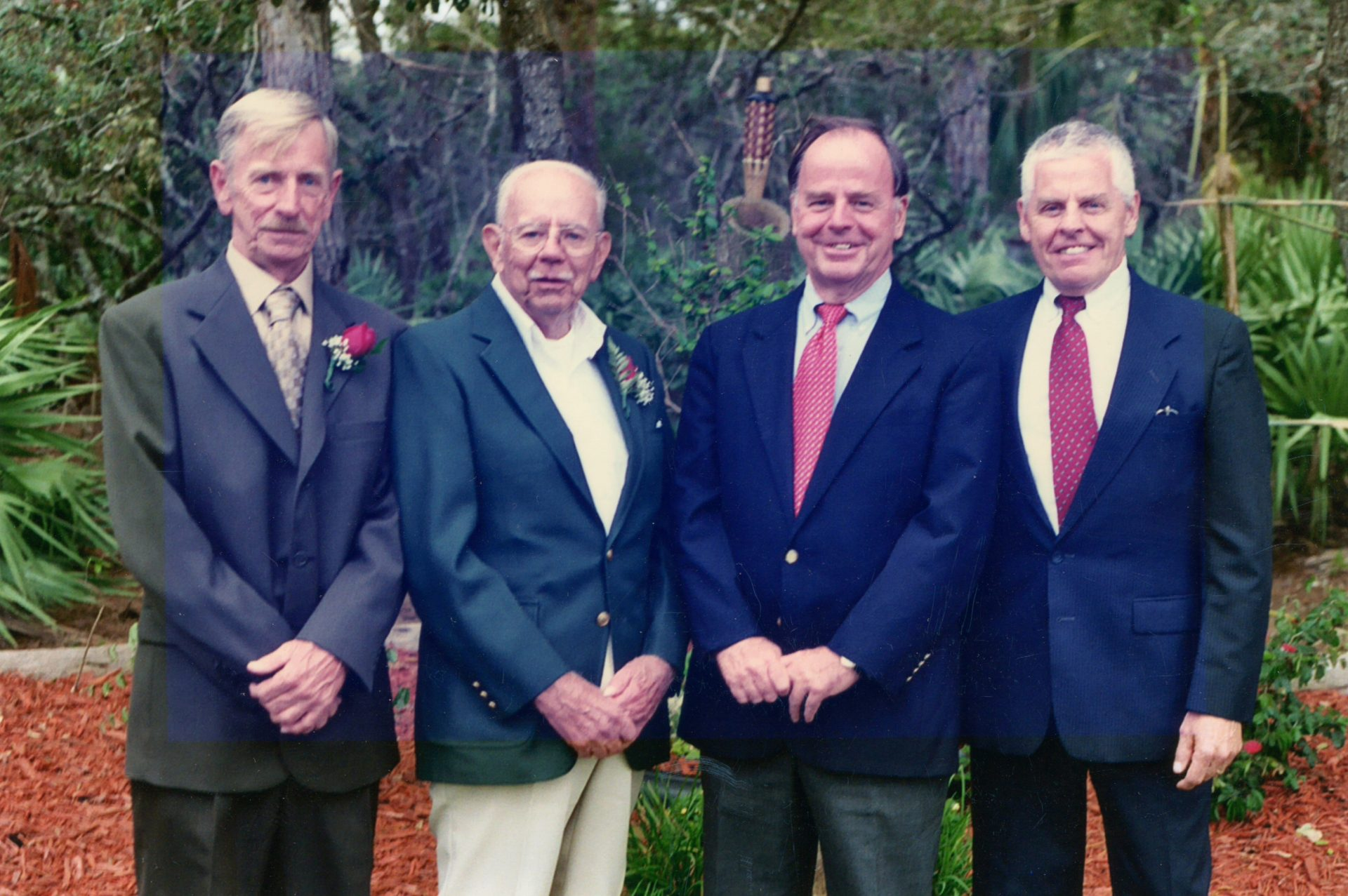 Russell and his Father and Brothers