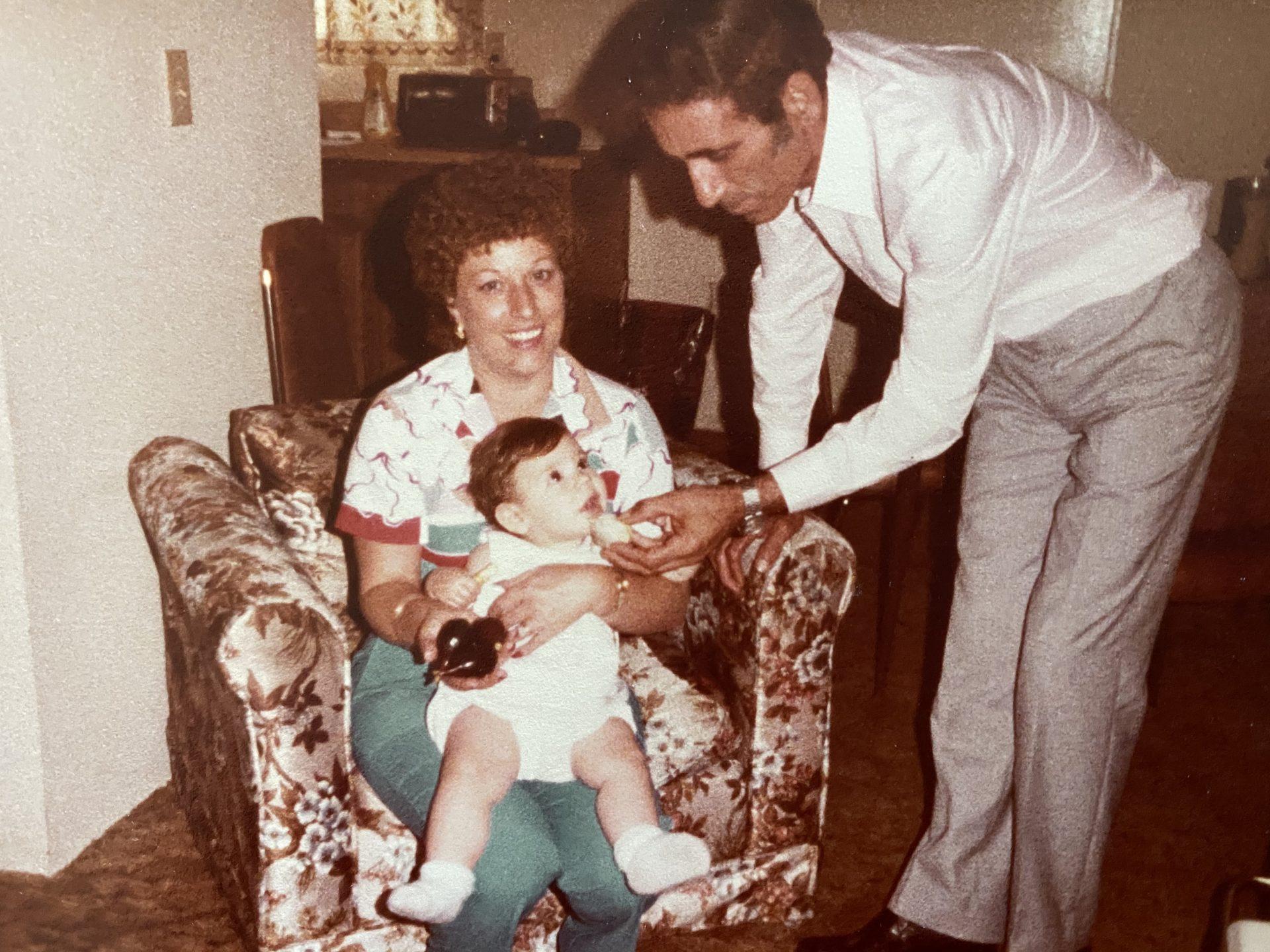 Nonno,  Nonna and Tricia