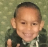 Isaiah  as a child