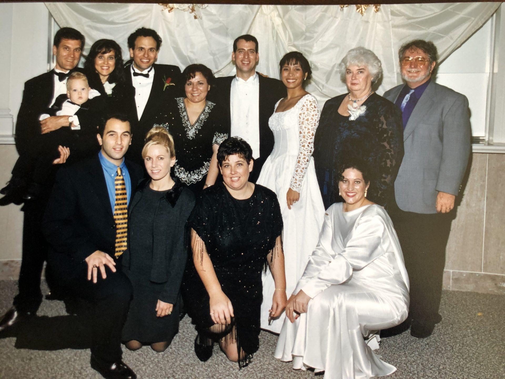 Mom and Paul's wedding