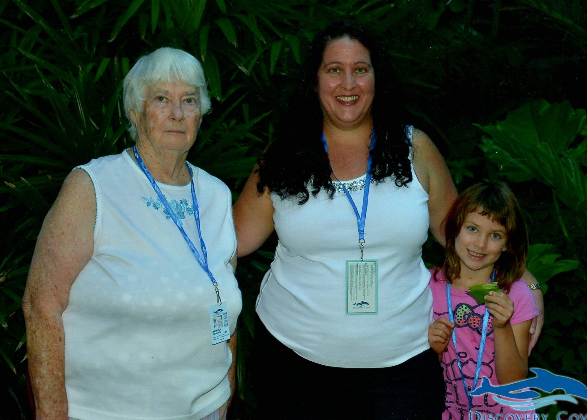 Mom, Pamela and her youngest grand daughter - Jewel!