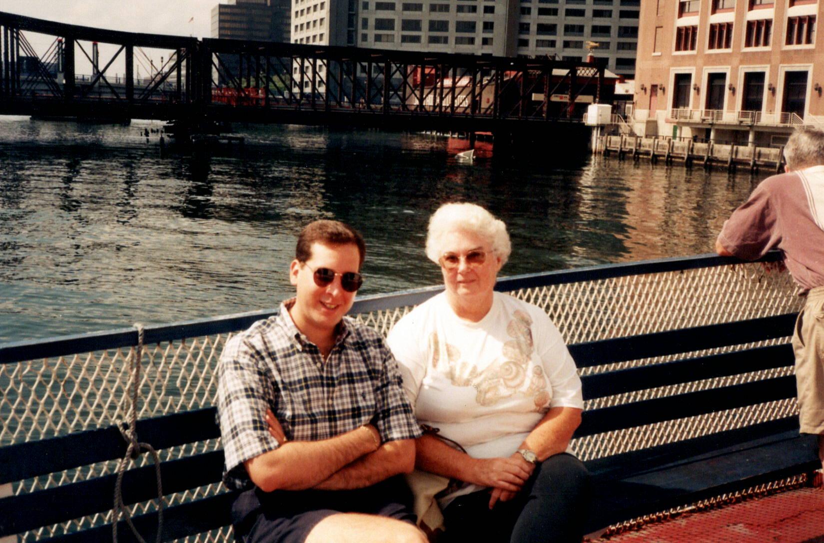 Mom and J. Matthew