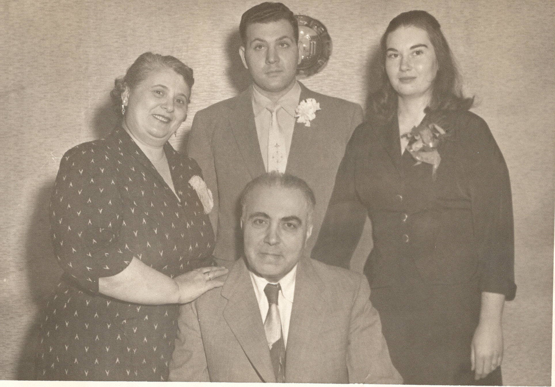 Mom, Dad and his parents -
