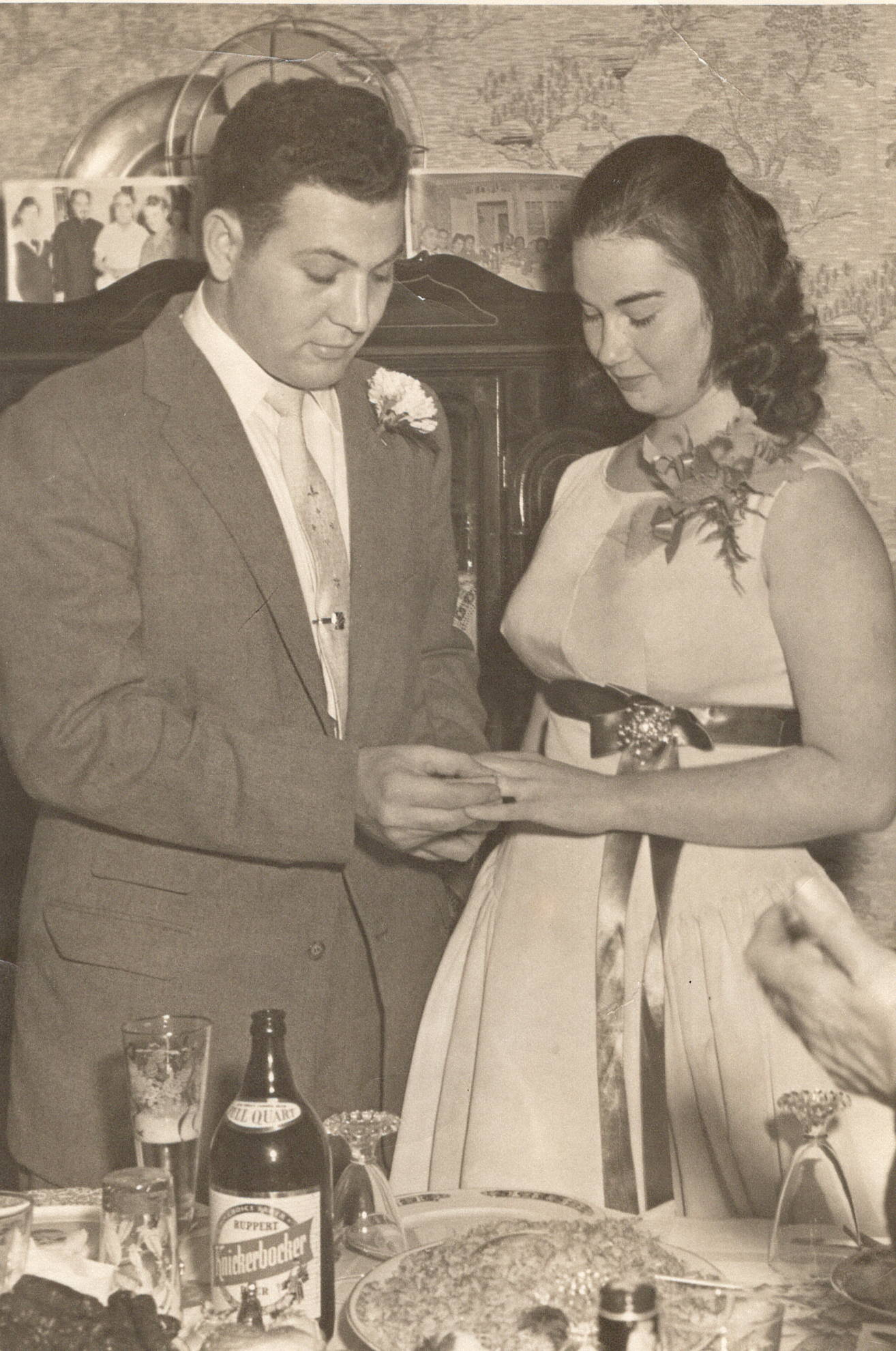 Mom and Dad - engagement