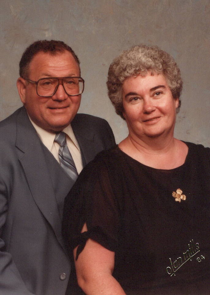 1984 picture of Mom and Dad
