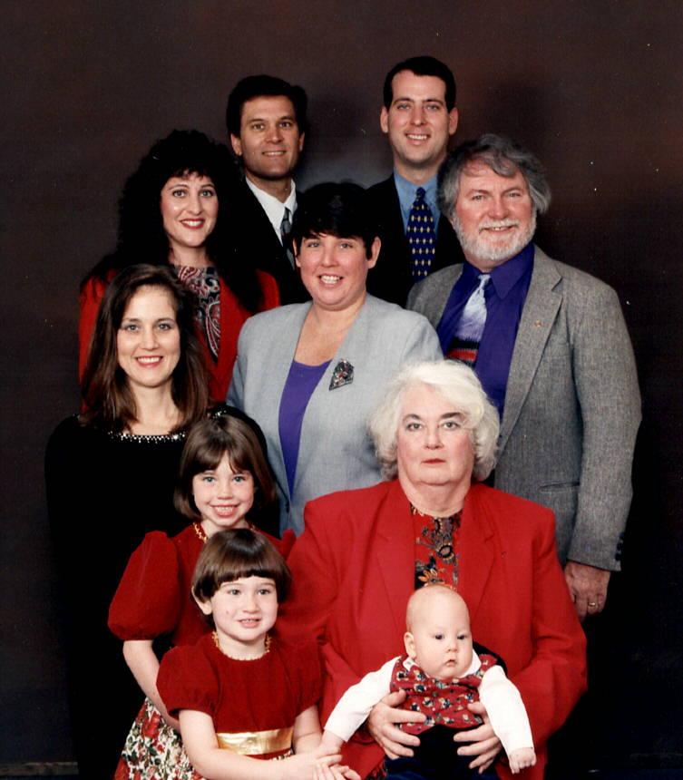1998 - Mom in Family Photo