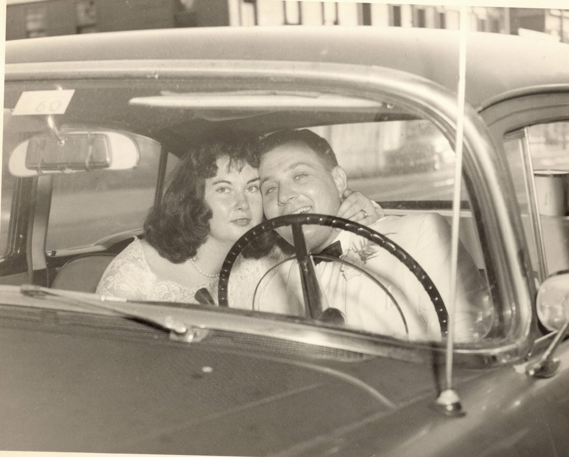 Mom and Dad - just married